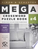 Simon Schuster Mega Crossword Puzzle Book 4 book