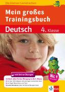 Mein gro  es Trainingsbuch