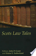 Scots Law Tales Legal Cases Of The Last 100 Years