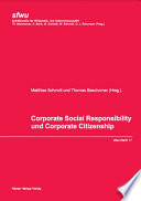 Corporate Social Responsibility und Corporate Citizenship