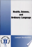 Health, Science, and Ordinary Language