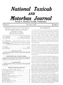 National Taxicab and Motorbus Journal