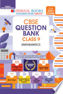 Oswaal Cbse Question Bank Mathematics Class 9 For 2021 Exam