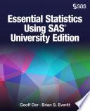 Ebook Essential Statistics Using SAS University Edition Epub Geoff Der,Brian S. Everitt Apps Read Mobile