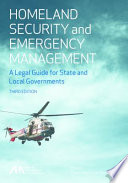 Homeland Security and Emergency Management