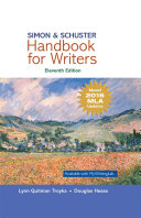 Simon   Schuster Handbook for Writers