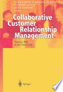 Collaborative Customer Relationship Management