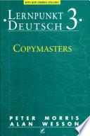 Lernpunkt Deutsch 3   Copymasters New German Spelling