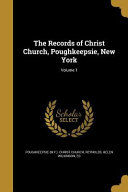 RECORDS OF CHRIST CHURCH POUGH
