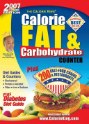 The Calorie King Calorie  Fat   Carbohydrate Counter 2007