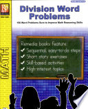 Division Word Problems book