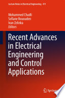 Recent Advances in Electrical Engineering and Control Applications