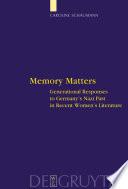 Memory Matters