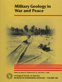Military Geology in War and Peace