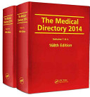 The Medical Directory 2014  168th Edition