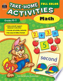 Full Color Take-Home Activities: Math