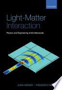 Light Matter Interaction