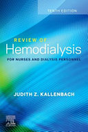 Review Of Hemodialysis For Nurses And Dialysis Personnel Elsevier Ebook On Vitalsource Retail Access Card
