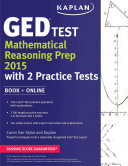 Kaplan GED   Test Mathematical Reasoning Prep 2015