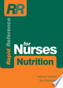Rapid Reference for Nurses  Nutrition