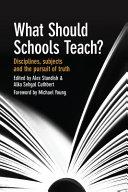 What Should Schools Teach