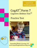 CogAT  Form 7 Practice Test
