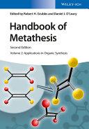 Handbook of Metathesis, Volume 2