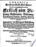 Chronica der freyen Reichs-Statt Speyer