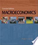 Macroeconomics  Concise Edition
