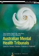 Australian Mental Health Tribunals