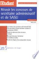 R  ussir les concours de secr  taire administratif et de SASU