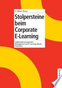 Stolpersteine beim Corporate E-Learning