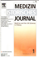 Medizinhistorisches Journal