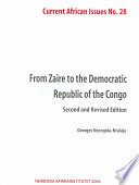 From Zaire to the Democratic Republic of the Congo
