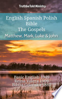 English Spanish Polish Bible The Gospels Matthew Mark Luke John