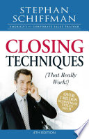 Closing Techniques  That Really Work