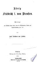 König Friedrich I. von Preussen