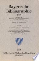 Bayerische Bibliographie 1967
