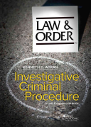 Law and Order   a Multimedia Casebook in Criminal Procedure