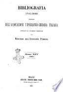 Bibliografia italiana giornale dell Associazione libraria italiana