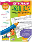 South Carolina Dailies: 180 Daily Activities for Kids