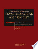 Comprehensive Handbook of Psychological Assessment  Intellectual and Neuropsychological Assessment