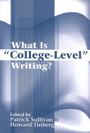 What is  college level  Writing