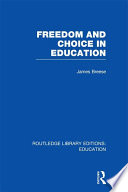Freedom and Choice in Education  RLE Edu K