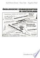 kologische Kommunikation in Deutschland