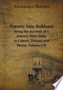 Travels Into Bokhara