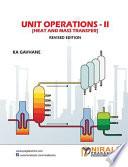 Unit Operations ii Heat   Mass Transfer
