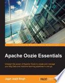 Apache Oozie Essentials book