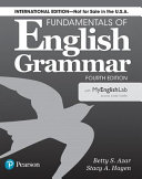 Fundamentals of English Grammar 4e Student Book with Myenglishlab  International Edition