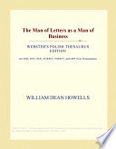 Man of Letters As a Man of Business